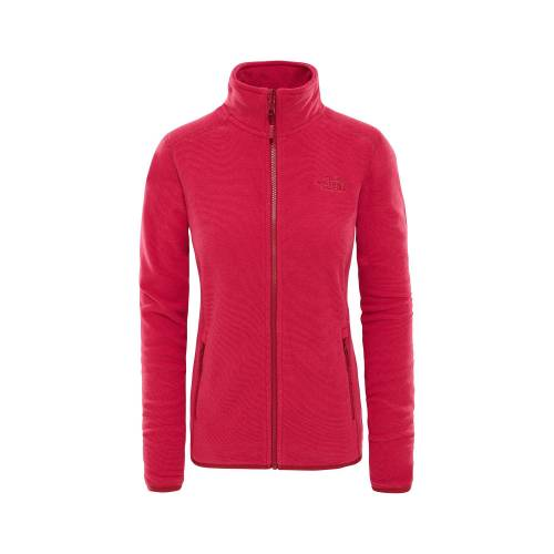 The North Face Pembe Kadın Outdoor Sweatshirts T92Uau6Zd W 100 Glacier Full Z