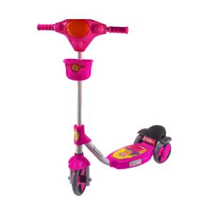 Scooter 3 Tekerlekli Frenli Prenses Scooter Sepetli 81 Cm