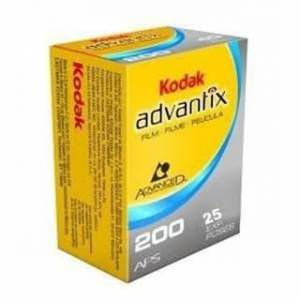 Kodak Advantix Film 200Asa 25'lik (25 Pozluk APS IX240) 1 Adet Film