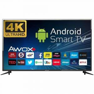 Awox B 205800S 58'' 146 Ekran 4K Dahili Uydu, Smart, Wifi, Android Led TV