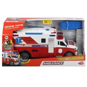 DICKIE TOYS AMBULANCE ACTION SERIES