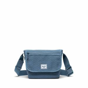 Herschel Omuz Çantası Grade Mini Woven Blue Mirage