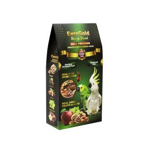 EuroGold Deluxe Papağan Fruits-Nuts 650 Gr