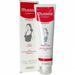 Mustela Stretch Marks Prevention Cream 150 ml Çatlak Öncesi Kremi