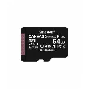 Kingston 64GB microSDXC Canvas Select Plus 100R A1 C10 Card + Adapter