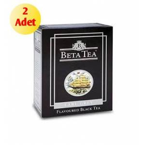 BETA TEA EARL GREY KARTON KUTU 100 GR x 2 ADET.