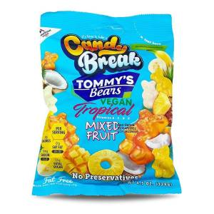 TOMMY'S BEARS MİXED FRUİT JELATİNSİZ VEGAN ANANAS JELİBON