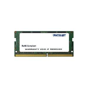 PATRIOT 8GB (8GBx1) 2400MHz DDR4 SINGLE Signature Notebook Ram PSD48G240081S