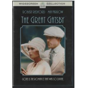 The Great Gatsby  Robert Redford  Dvd