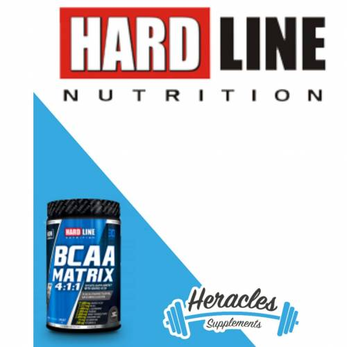Hardline Nutrition BCAA Matrix 630 gr