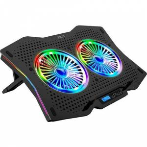 Inca INC-607 Gms Arrax Iı 2x RGB Fan 10-18 Gaming Notebook Soğutucu