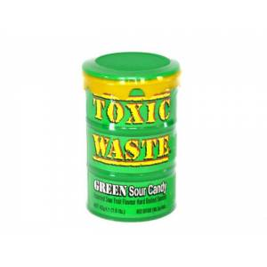 TOXİC WASTE GREEN SOUR CANDY 42gr