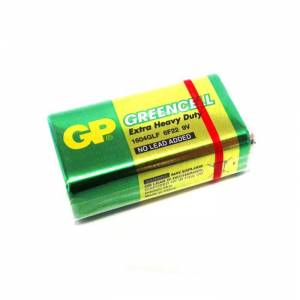 GP 1604GLF 9V Greencell Pil (Tekli Blister)