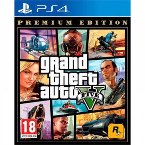 PS4 GRAND THEFT AUTO GTA 5 V PREMIUM EDITION