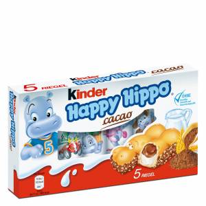 Kinder Happy Hippo Cacao 5 Riegel Biscuits