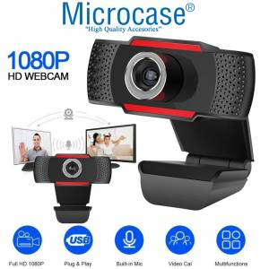 Microcase Mikrofonlu Full Hd Webcam Kamera 1080P 30 FPS AL2550