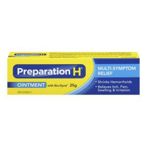 Preparation H Ointment 25 g With Bio Dyne EXP:02/2022