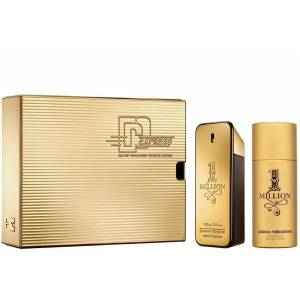 Paco Rabanne One Million EDT 100 ML Parfüm &150 ML Deodorant Erkek Parfüm Seti