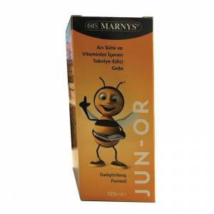 Marnys Junor Arı Sütü ve Multivitamin Şurup 125 ml