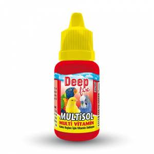 Deep Multisol - Kuş Multivitamini 30 ml