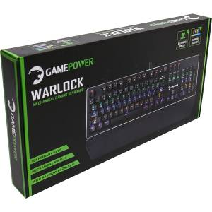 Gamepower Warlock Mavi Switch Mekanik Klavye