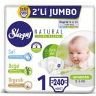 Sleepy Natural 1 Beden 240 Adet