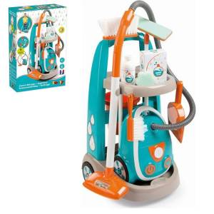 7600330309 CLEANING TROLLEY + VACUUM CLEANER