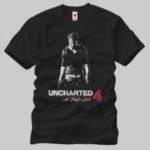 Crazy Uncharted 4 Thief Shadow Erkek Tişört