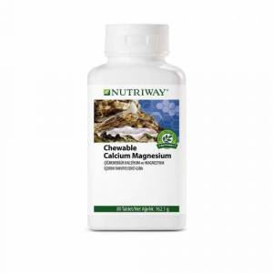 AMWAY NUTRİWAY CHEWABLE CALCİUM MAGNESİUM 80 TABLET