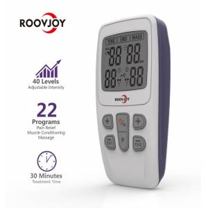 ROOVJOY MİNİ TENS EMS CİHAZI, 22 PROGRAM
