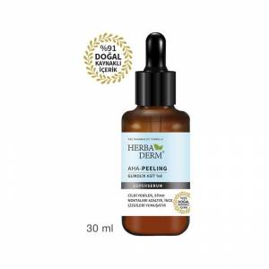 Herbaderm AHA-Peeling Glikosit Asit Superserum 30ml