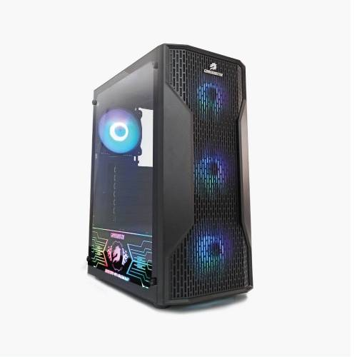 GAMEBOOSTER GB-G3309B 550W 80+ ATX USB 3.0, Mesh, RGB Fan, Mid Tower Siyah Gaming Kasa