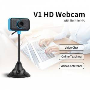 Webcam HD480P PC Camera USB HD Webcam Laptop Skype MSN
