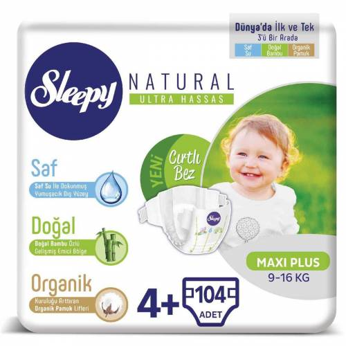 Sleepy Natural 4+ Beden 104 Adet