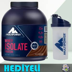 Multipower Pure Whey Isolate Protein Çikolata 2000 gram