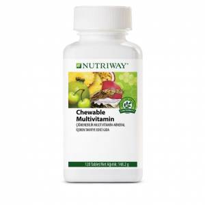 AMWAY NUTRIWAY Chewable Multivitamin Ürün Kodu:100930 '' 120 tablet Kutu ''