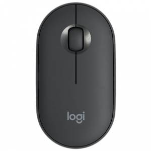 Logitech Pebble M350 Mouse Graphite 910-005718