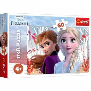 Trefl Puzzle Frozen 2 The Enchanted World Of Anna And Elsa 60 Parça Puzzle