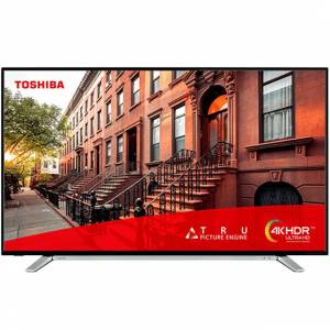 TOSHIBA 43UL2A63DG 110CM ULTRAHD 4K UYDULU SMART WIFI ULTRA İNCE KROM TASARIM 2000HZ LED TV