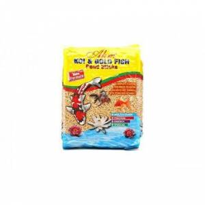 Ahm Koi Goldfish Naturel Pond Sticks Balık Yemi 1 Kg