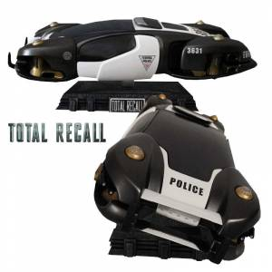 Total Recall: Flying Police Car Statue