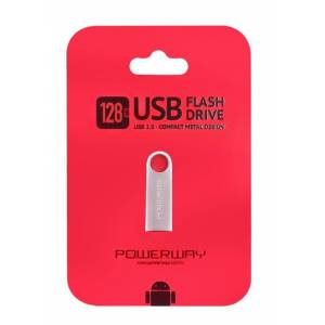 128 Gb Metal Usb Flash Bellek Powerway