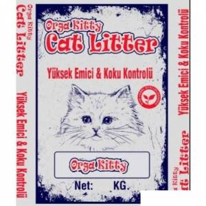 Orga Kitty (Dogal Selüloz Pelleti) Kedi Kumu 25Kg (37Lt)