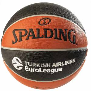Spalding TF-150 Basket Topu Turkish Airlines Euroleague Basketbol No:7