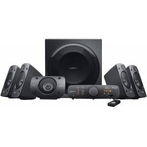 (OUTLET) Logitech Z906 3D-Stereo Hoparlör THX Dolby Digital 5.1 Surround Sound 500 Watt RMS