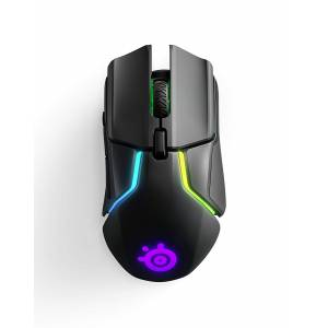 SteelSeries Rival 650 Kuantum Wireless RGB Gaming Mouse - 12.000 Cpi Truemove3+ Çift Optik Sensör