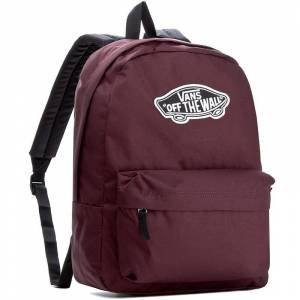 Realm Vans Off The Wall Sırt Çantası Bordo 4QU