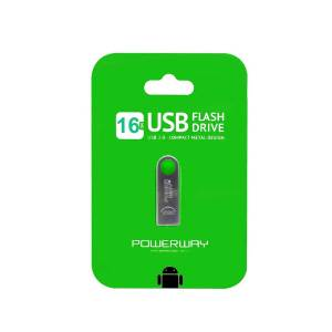 16 Gb Metal Usb Flash Bellek Powerway