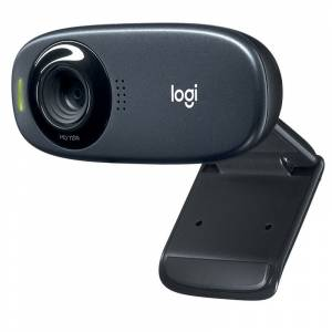Logitech C310 5MP Siyah HD Webcam 960-001065