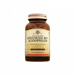Solgar Advanced 40+ Acidophilus 60 Kapsül